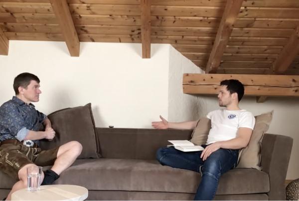Bertl Stecher im Interview mit Matthias Asböck